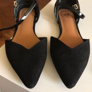Dressing black shoes (Flats)
